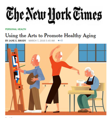 NY Times Art Promotes Healthy Aging | Play it for Seniors